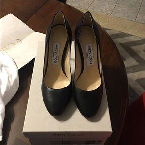 Jimmy Choo Esme Black Heels size 7 NWT